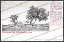 SIRACUSA CITTÀ Cartolina 18. Serie CASA DEI VIAGGIATORI