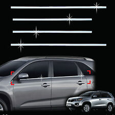 Chrome Window Sill Belt Molding Trim Cover for 09+ Sorento Sorento R