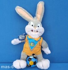 HASE BUGS BUNNY STOFFTIER LOONEY TUNES WARNER PLAY-BY-PLAY 30 CM FOOTBALL 1998