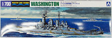 Aoshima Waterline 46012 US Navy Battleship WASHINGTON 1/700 scale kit