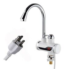 A.B Crew 110V Tankless Electric Hot Water Heater Faucet Kitchen Heating Tap W...