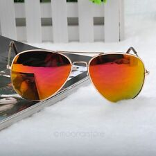 Gafas de sol, Aviator 58mm, lentes amarillas, proteccion UV 400. #855