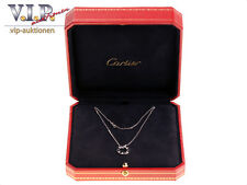 CARTIER LOVE COLLIER HALSKETTE & ANHÄNGER 18K/750 WHITE GOLD & DIAMONDS NECKLACE