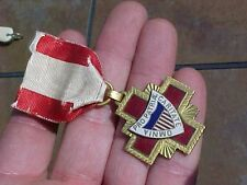 VINTAGE US RED CROSS US MILITARY SURGEON MEDAL - BB&B - NUMBERED