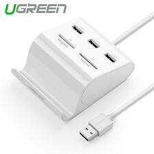 Ugreen All in 1 USB 3.0 3 Ports HUB Multi SD TF Card Reader for PC Laptop Phone