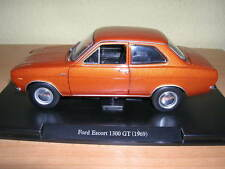 Atlas Fabbri Ford Escort 1300GT/1300 GT Brown Year Model 1969 1:24