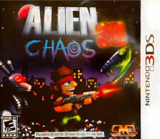Alien Chaos 3D USED SEALED (Nintendo 3DS, 2012)
