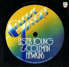 LESTER YOUNG AND COLEMAN HAWKINS classic tenors 6369 410 uk philips LP PS EX/EX