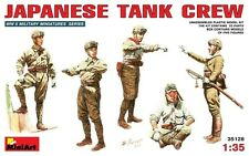 Min35128 Miniart 1:35 - Japonés Tank Crew Plastic Model Kit