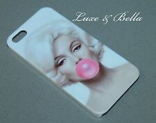 Marilyn Monroe White/Pink Hard Case for iPhone 5, 5s