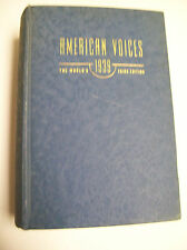 AMERICAN VOICES 1939 WORLD'S FAIRS EDITION