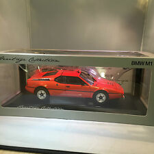BMW GENUINE M1 MINIATURE HERITAGE COLLECTION  1:18 SCALE
