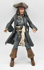 "Pirates Of The Caribbean Captain Jack Sparrow Loose 7"" Action Figure NECA 2006"