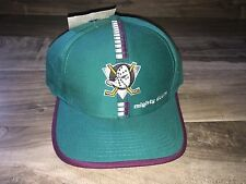 VINTAGE ANAHEIM MIGHTY DUCKS TISA SNAPBACK DISNEY RARE NHL