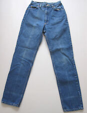 Vintage Lee High Waist Jeans Blue Denim Faded 12 USA 27""