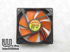 TT 90mm 9CM 9025 Type-D 1600 RPM 0.13A Ultra Quiet Computer case fan Free Ship!