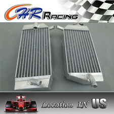 HIGH-PERF R&L aluminum radiator fit for  Honda CRF450R 2005 2006 2007 2008