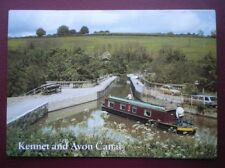 POSTCARD WILTSHIRE KENNET & AVON CANAL - AVONCLIFF AQUEDUCT