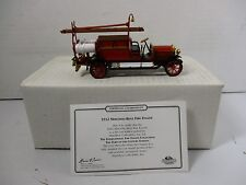 1/43 SCALE MATCHBOX MODELS OF YESTERYEAR 1912 MERCEDES BENZ FIRE ENGINE