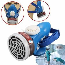 Self-priming Filter Cartridge Gas Paint Spray Dust Respirators Half Face Mask