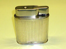 VINTAGE TABLE LARGE LIGHTER W. DUTCH/NETHERLANDS - 833 SILVER CASED - RARE