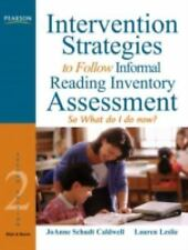 Intervention Strategies to Follow Informal Reading Inventory Assessment: So What