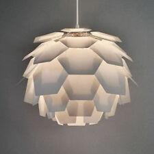 Modern White Artichoke Style Ceiling Pendant Light Lamp Shade Fitting Lights NEW