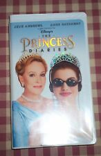 A GARRY MARSHALL FILM DISNEY'S THE PRINCESS DIARIES VHS LIKE NEW WITH INSERT
