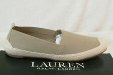 LAUREN RALPH LAUREN WOMENS FLAT SHOES SIZE 7.5 UK GARDENA NEW WITH BOX RRP £75