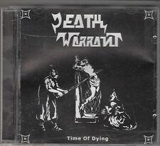 DEATH WARRANT - time of dying CD