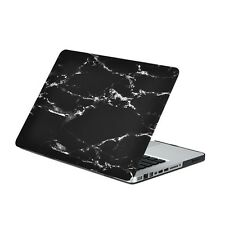 "13-Inch Pro Black Marble Matte Hard Case for Macbook Pro 13"" Model: A1278"
