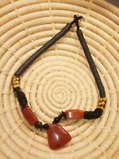 African Recycled Trade Bead Necklace new Africa ethnic tribal jngs5