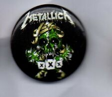 METALLICA  XXX BUTTON BADGE  AMERICAN HEAVY METAL BAND   25mm PIN