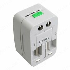 All in one International Adaptor Electric Plug Socket AU UK US EU