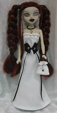 Clothes for BLEEDING EDGE BeGoths Dolls #26 Dress, Corset, Purse, Necklace