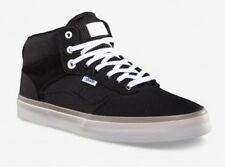 New Vans Bedford Mens 7 Womens 8.5 OTW Black White Suede & Canvas Sneakers