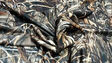"REALTREE ADVANTAGE MAX 4 HD FLEECE HUNTING CAMO FABRIC 61""W POLY BLANKET QUILT"