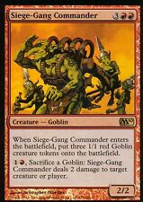 Siege-Gang Commander FOIL NM | | m10 | Magic MTG