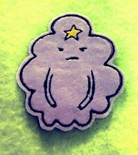 Adventure time LSP Lumpy Space Princes embroidered iron on patch 85mm