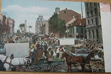 Jacques Cartier Square Montréal Canada, Leighton Co, Private postcard, No 733