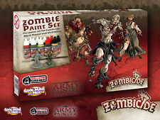 The Army Painter BNIB Warpaints Zombicide Black Plague Set APWP8012