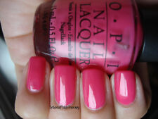 NEW! OPI Nail Polish Vernis STRAWBERRY MARGARITA ~ Bright PINK