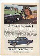 Toyota Crown Original Advertisement Optionals are Standard