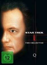 JOHN DE LANCIE - STAR TREK-Q BOX  4 DVD NEU