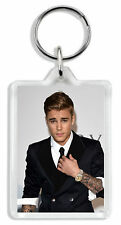 Justin Bieber Keyring / Bag Tag *Great Gift*