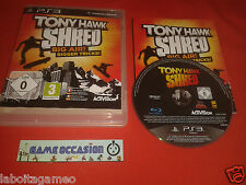TONY HAWK SHRED BIG AIR! SONY PLAYSTATION 3 PS3 PAL COMPLET