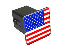 USA American Flag - Tow Trailer Hitch Cover Plug Truck Pickup RV