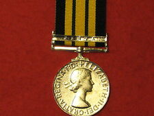 FULL SIZE AGSM AFRICA GSM MEDAL KENYA CLASP MUSEUM COPY WITH RIBBON.