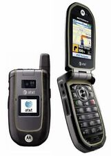 Motorola VA76R Tundra AT&T 3g GSM Rugged Durable Camera  GPS Flip Cell Phone New