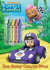 Color Plus Chunky Crayons Ser.: The Great Crayon Race by Golden Books Staff...